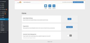 Cloudflare WordPress plugin screenshot